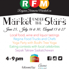 First 2014 Market under the Stars coming Wednesday, June 25th, 2014!