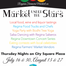August 13th, 2015 Market under the Stars News and Map!