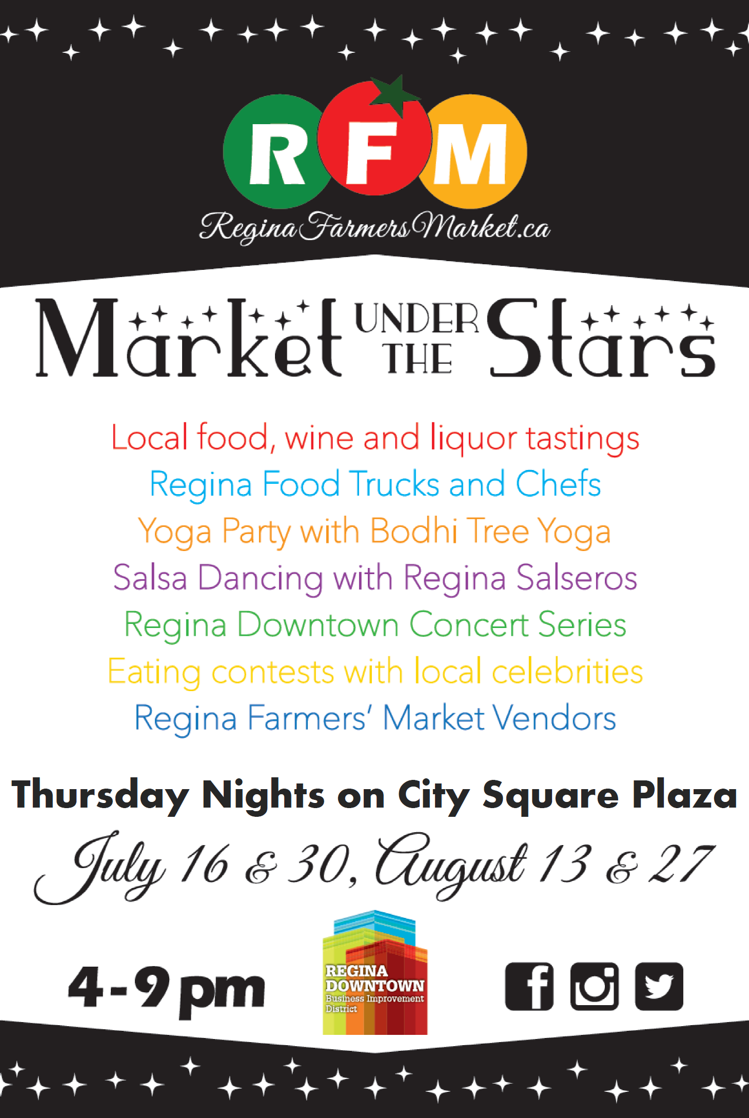 Market under the Stars Media Release and Event Map! - Image 1
