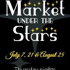 May 25 Map & Market Under the Stars Dates!