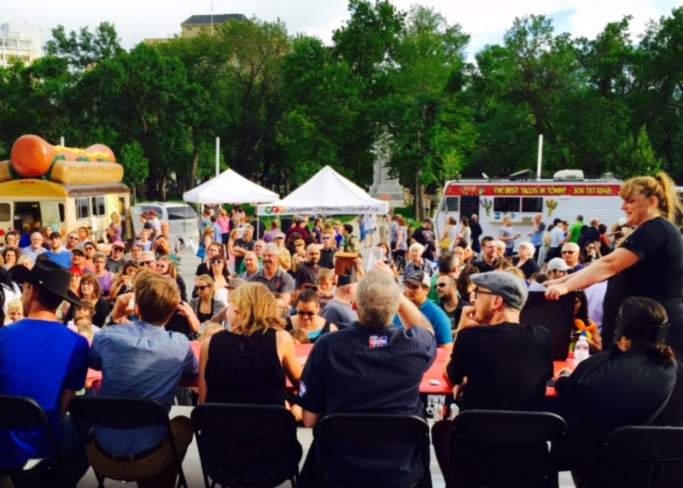 Street Beets July 17th, 2015: I Love Regina Day, Salayview Eggs, and Map!