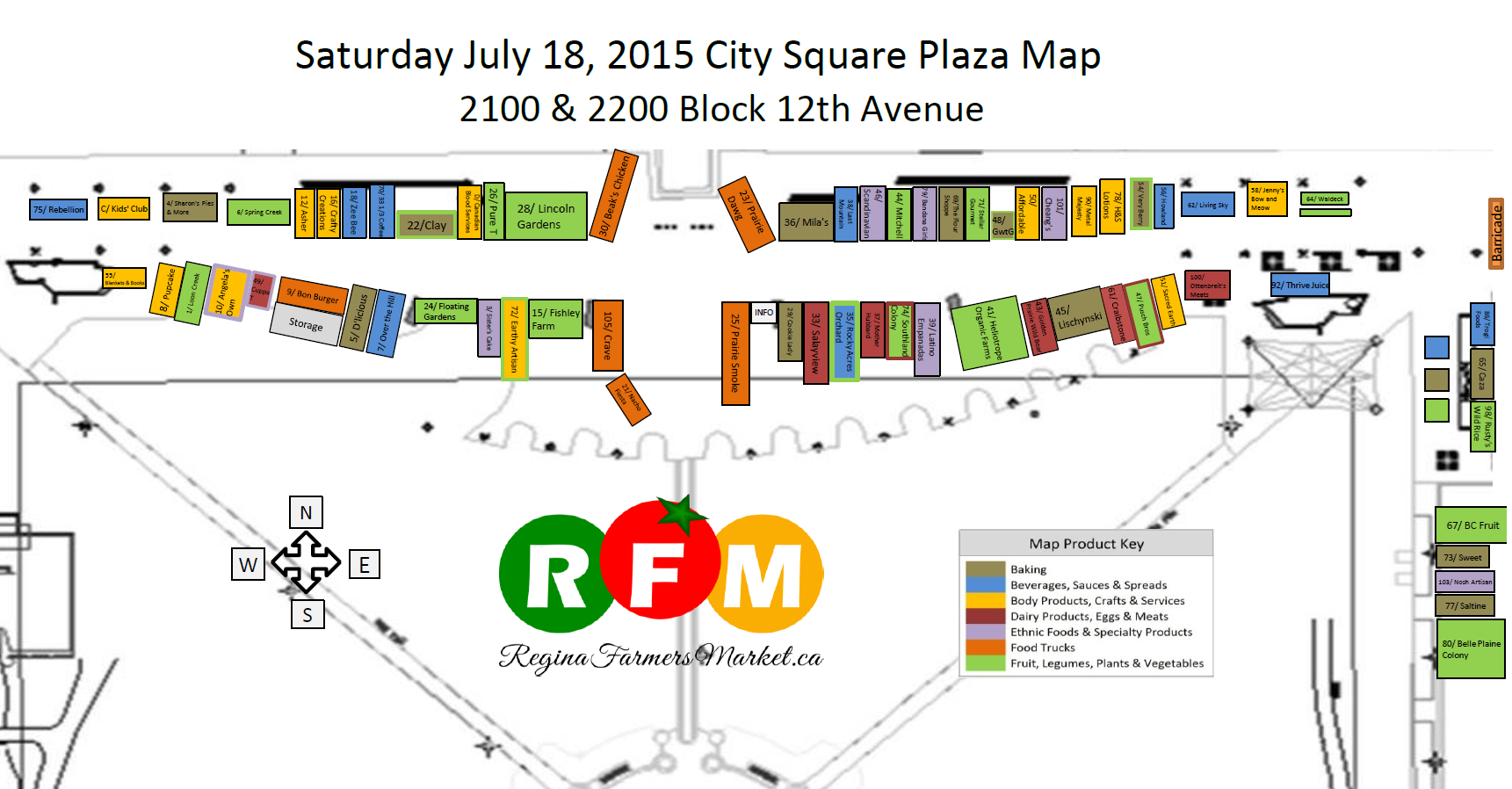 Street Beets July 17th, 2015: I Love Regina Day, Salayview Eggs, and Map! - Image 2