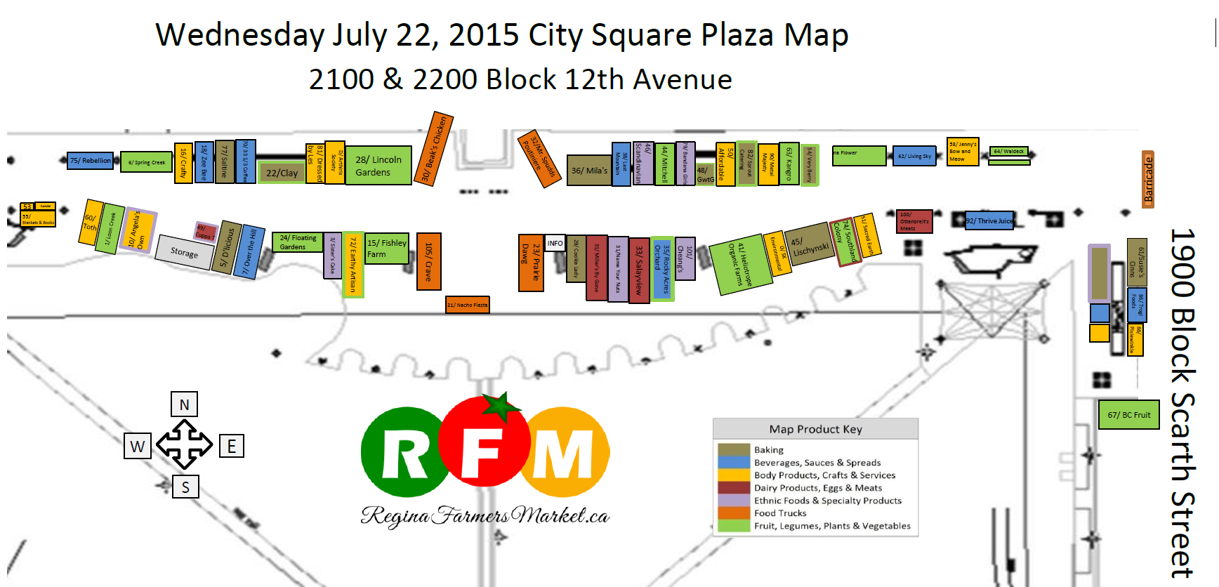 Street Beets July 21st, 2015: Cherry Trees, Cold Brew Coffee, and Vendor Map! - Image 3