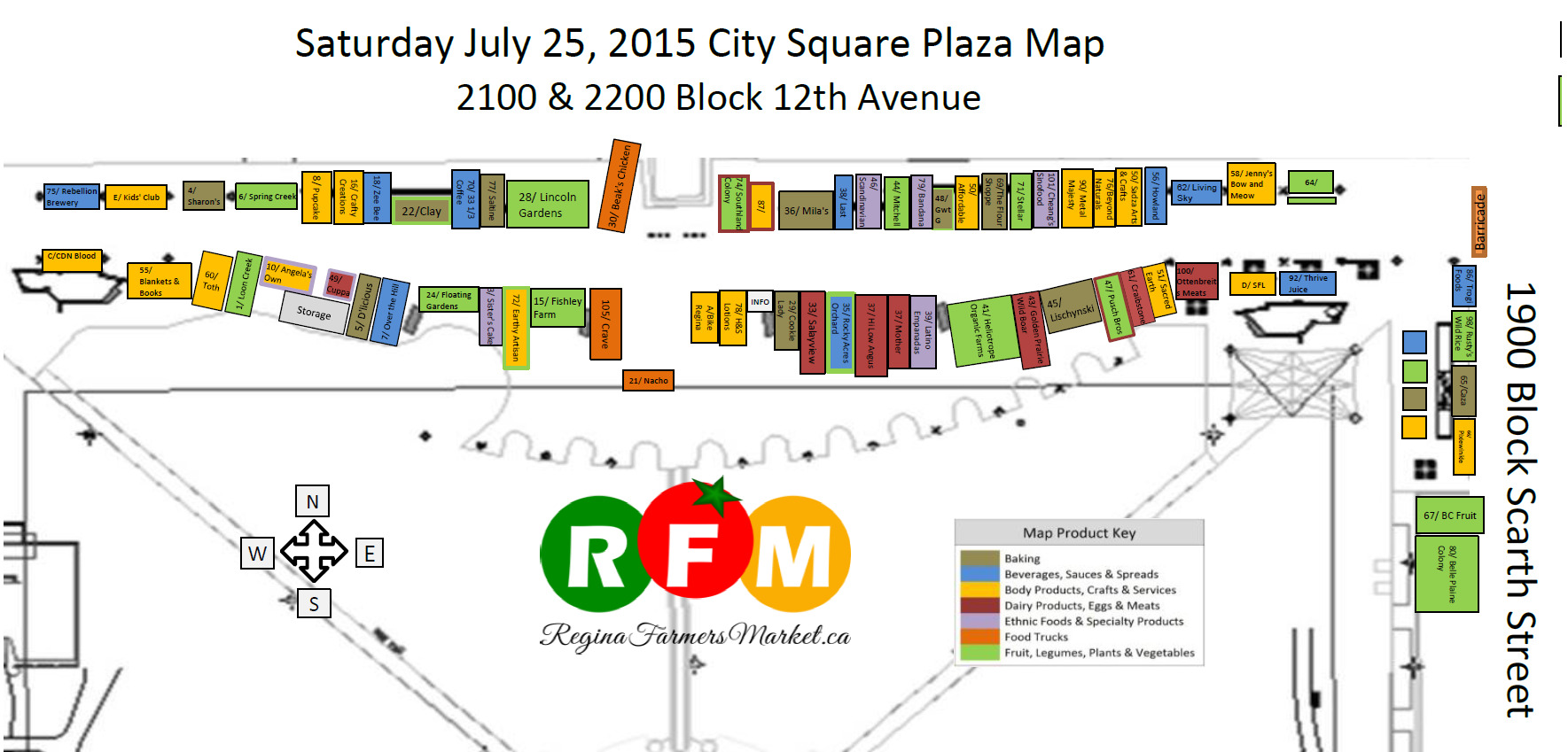Street Beets July 24th, 2015: Map and Reminder - Image 1