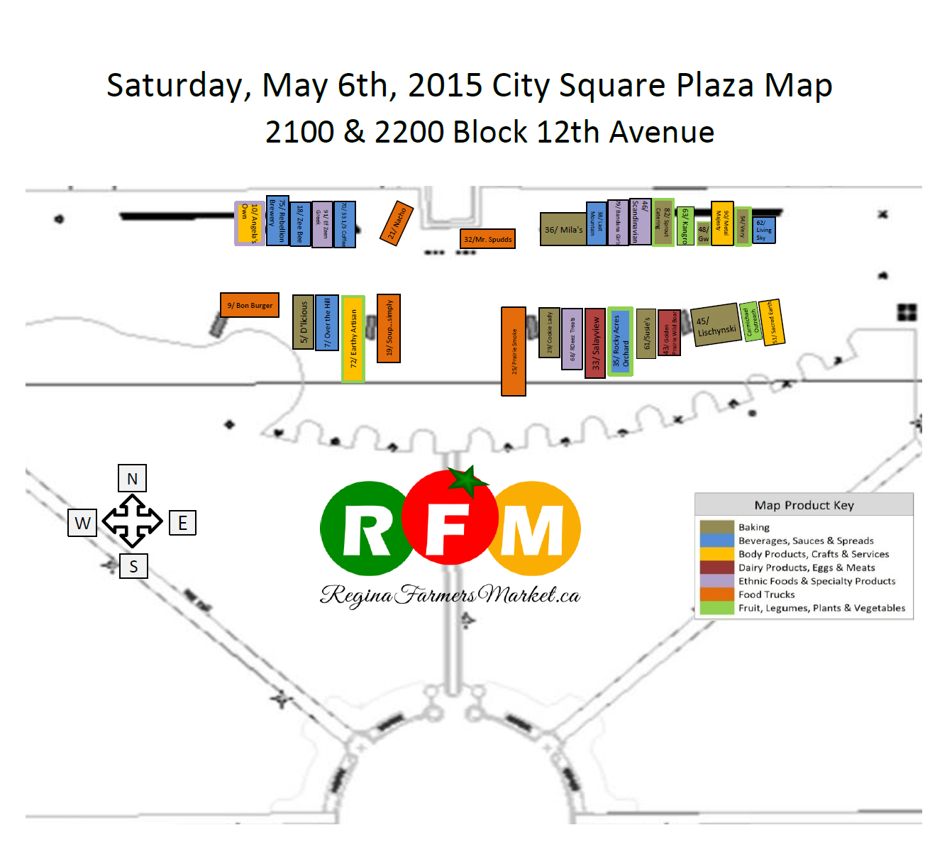 Street Beets May 5th, 2015: Map and more Food Trucks! - Image 1
