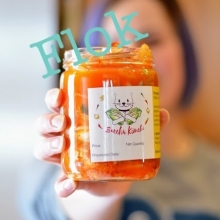 Do you like kimchi? Have you racked up 20 punches on #Flok? If you answered yes to these questions, there is a FREE jar of kimchi waiting for you to redeem tomorrow!  Also, @yqr_kimchi is debuting a new spicy kimchi at tomorrow's market, so if you're look