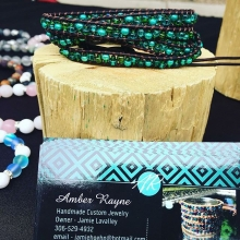 If you've got 20 #Flok punches, then get fancy tomorrow and cash them in for a free anklet from @amberraynedesigns!  Handmade, colourful, and stylish; one of these pieces is sure to compliment any summer outfit 🙂👍🏻 « » OUTDOOR FARMERS' MARK