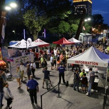 ⭐⭐⭐MARKET UNDER THE STARS IS TONIGHT!⭐⭐⭐ « » Voted the Best Summer Event of 2017 by @prairiedogregina readers, #MarketUndertheStars is back for another great season of local tastes and local tunes! « » The event starts tonight at 5pm. Fi