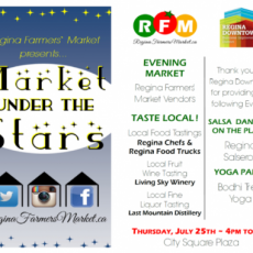 July 25th Market under the Stars Poster