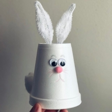 In addition to #RFMKidsClub, Regina Public Library is hosting story time at the market! Story time is held at 10 am, 11 am and 12 pm to the left of the stage on the upper level. « » For RFM Kids' Club this weekend, we're doing styrofoam cup bunnies! Cra