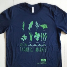 @articulateinker made us new shirts just in time for our first outdoor market! See them in person at our information tent (centre of Plaza, across from stage) this Saturday, May 6. Shirts are $25 each in sizes S - XXL. « » #YQR #YQRdt #YQRevents #Farmer