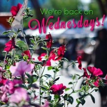 We've officially launched the Saturday outdoor markets, and now it's time to do the same for Wednesdays! May 10 is our first Wednesday back on Plaza. These vendors have chosen our first mid-week market as their first of 2017: « » • @localandfresh (NEW