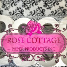 Saskatchewan made toilet paper...WHAT. Yes, and it's definitely a first for RFM. Rose Cottage Paper Products from Medstead, SK is the proud producer. They source parent rolls of paper from a manufacturer that uses mostly Saskatchewan wood pulp. The pare