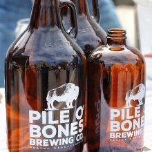 @pileobonesbrewing is back at RFM tomorrow! Have them fill a growler (2 sizes available) with one of their local beers. They plan to have Scarth St. Ale, Pale Ale, Red IPA, and possibly the Chocolate Stout. « » #YQR #YQRdt #YQRevents #FarmersMarket #Sho