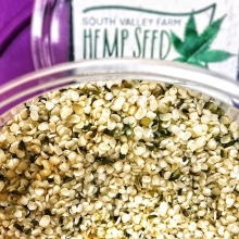If you don't regularly enjoy hemp seed, maybe you should; it contains plenty of protein, essential fats, magnesium, and fiber. South Valley Farm is planning to attend every Saturday throughout the summer with their locally grown hemp seed and oil. Visit t