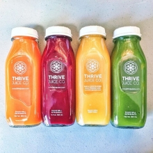 We haven't seen @thrivejuiceco since August of 2016, and we were afraid we might never see them again. ☹️ Good news – Thrive is BACK at market tomorrow! Help us let them know how much they were missed and how happy we are to have their products back