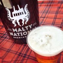 We welcomed @pileobonesbrewing to the market earlier this year, and now @maltynational is joining! We've had all kinds of growler fills at the market, but we've never had bottles or cans of beer. Malty National now has that covered; tomorrow, they're brin