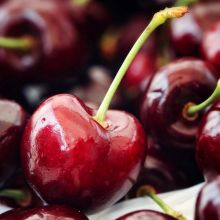 The #cherries have (almost) arrived! We expect to see Kim's Fresh Fruit tomorrow morning 🍒AFTER 10 AM🍒 with an entire truckload of ruby red cherries, proudly grown in Oliver, BC. « » As you may know, our market represents everything made, baked,