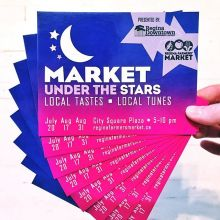 You can WIN Tasting Tickets for ‪#‎MarketUnderTheStars‬ this Thursday, July 20 – just LIKE this post and TAG a friend to enter! « » Market Under the Stars is all about the Local Tastes and Local Tunes: « » ⭐️ FOOD TASTING - RFM Vendors, fo