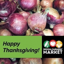 RFM Gratitude List, #2: We're grateful for our farmers! Growing and raising food is no joke, and we're so thankful to have such exceptional farmers join us week in and week out. « » Find out which growers will have their last market of the year tomorr