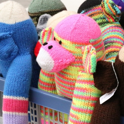 Knitted Plush Toys