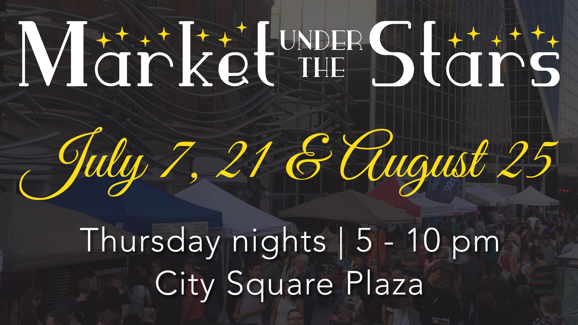August 10 Map & Market T-Shirts! - Image 1