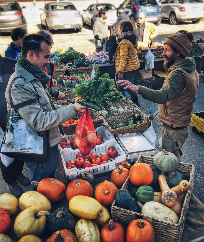 Oct. 22 Map & Fresh Veggies