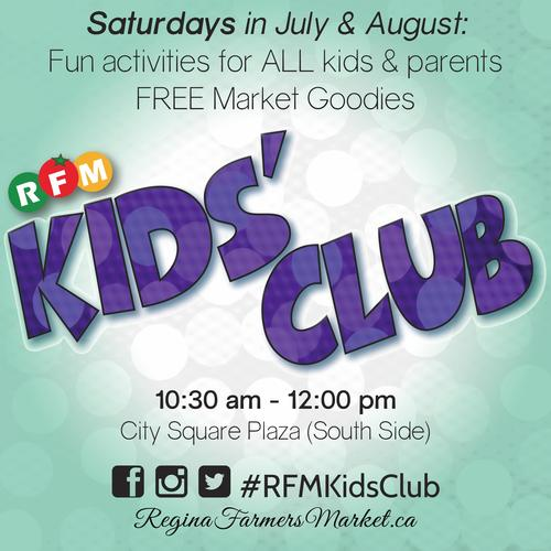 RFM Launches Weekly Kids' Club!