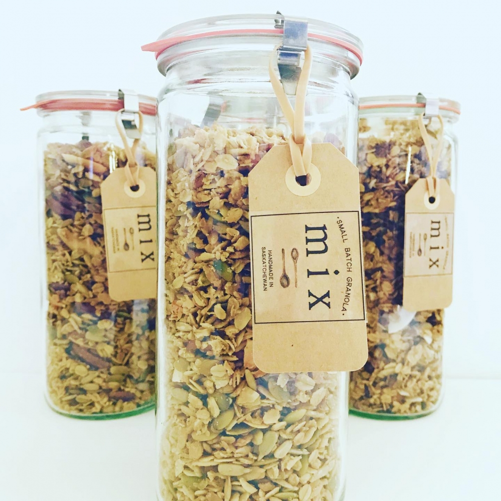Vendor Spotlight: Mix Small Batch Granola