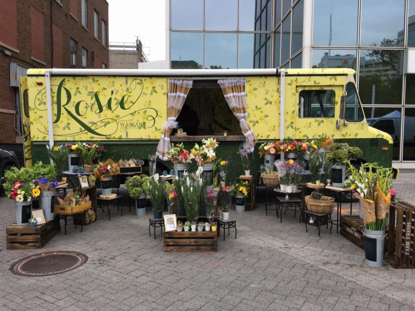 Vendor Spotlight: Rosie the Flower Truck