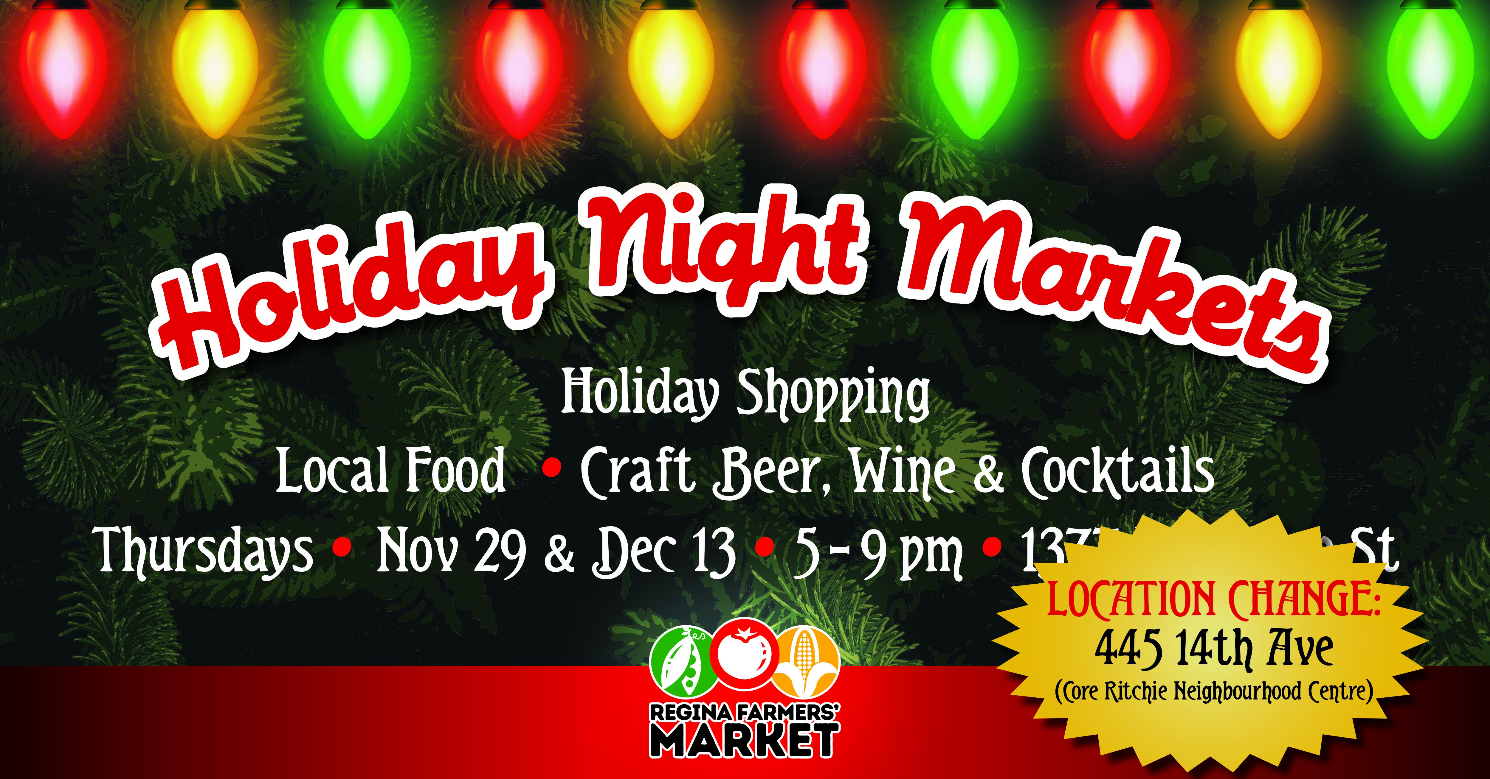 Holiday Night Market (LOCATION CHANGE!)