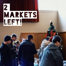 Street Beets Dec. 12, 2015: 2 MARKETS LEFT, Map & Cookie Decorating with The Cookie Lady