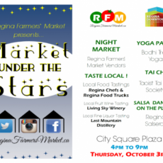 Market under the Stars : Thursday, October 3rd on City Square Plaza!