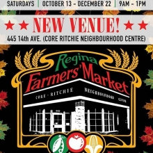 Fall Indoor Markets start on Saturday October 13 at our ⭐️NEW VENUE⭐️: the Core Ritchie Neighbourhood Centre (445 14th Ave, corner of 14th Ave and Edgar St). « » What you need to know: • Fall Indoor Markets run Saturdays ONLY from Oct 13 to De