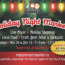 LOCATION CHANGE!!! Our #HolidayNightMarket events on Nov 29 & Dec 13 have BOTH been relocated to the Core Ritchie Neighbourhood Centre at 445 14 Ave!< > Please share this updated info widely and join us for: • Nearly 50 vendors featuring products that