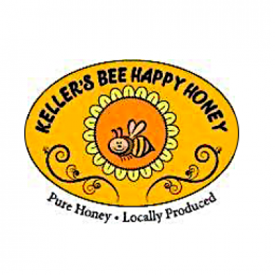 Bee Happy Honey Logo